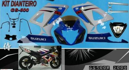 Suzuki GS500R - Carenagem - MMotos