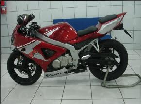 Suzuki GS500R - RED - MMotos
