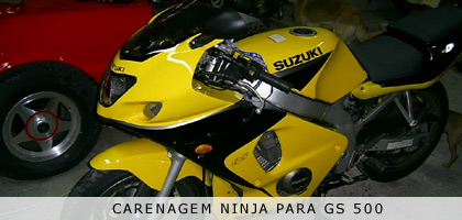 Suzuki GS500R - Patão