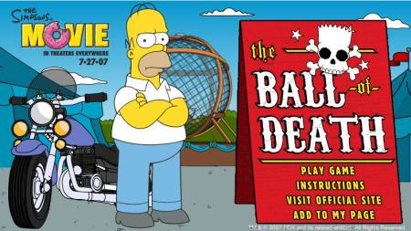 Os Simpsons - The Ball Of Death-2