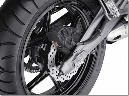 2011_Kawasaki_Ninja_650R_Rear_Brake_View